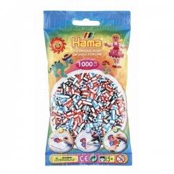 Hama 207-91 Dodatkowe koraliki midi - 1000 prążkowanych koralików