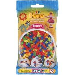 Hama 207-51 - Dodatkowe Koraliki midi, 1000szt mix neon