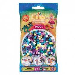 Hama 207-69 - Dodatkowe Koraliki midi, 1000szt mix kolorów