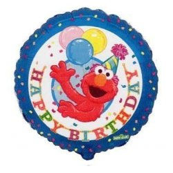 "Balon foliowy 18"" Elmo Happy Birthday"