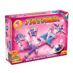 Tryron 0582 Pink - Klocki magnetyczne 21 Elementy