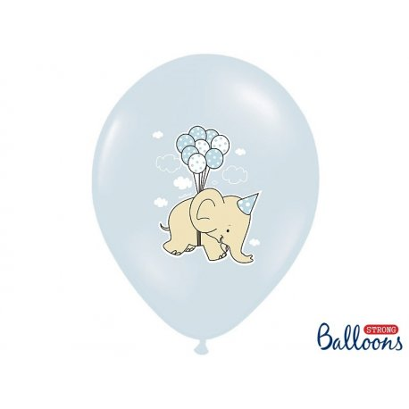 Balon lateksowy 30cm, Chmurki
