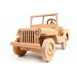 Samochód Terenowy z Tektury - Off-Road Car - Leolandia
