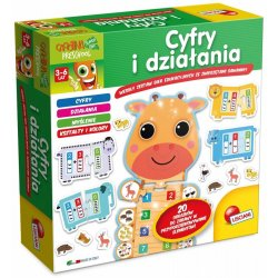 Lisciani P50697 - Puzzle Cyfry i Działania - Gra Edukacyjna