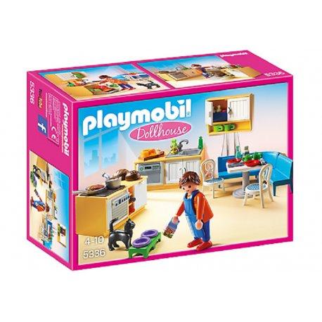 Playmobil 5336 - Kuchnia z kącikiem jadalnym
