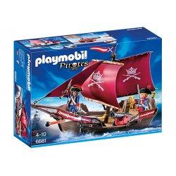 Playmobil 6681 - Żaglowiec Żołnierski z Armatą - Piraci