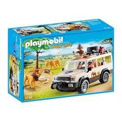 Playmobil 6798 - Samochód Terenowy z Wciągarką Linową