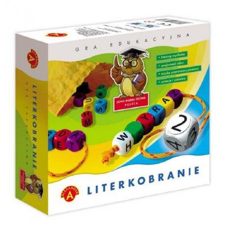 Literkobranie - gra edukacyjna