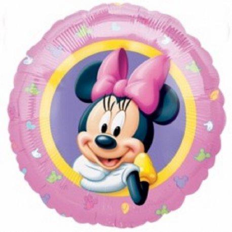 """Myszka Minnie 17"""" - balon foliowy napełniony helem"""