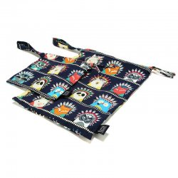 La Millou Travel Bag - Indian zoo - compact size