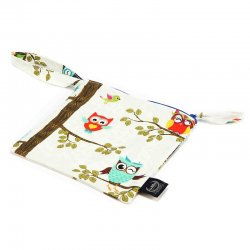 La Millou Travel Bag - Owl radio - compact size