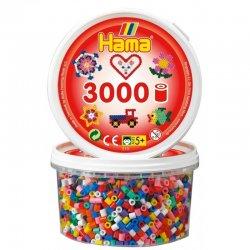 Hama 210-00 - Koraliki Midi 3000 mix kolorów