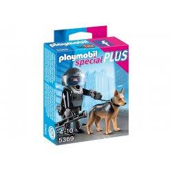 Playmobil 5369 - Policjant jednostki specjalnej z psem