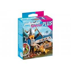 Playmobil 5371- Wiking ze złotym skarbem