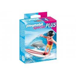 Playmobil 5372 - Dziewczynka serfująca z delfinem