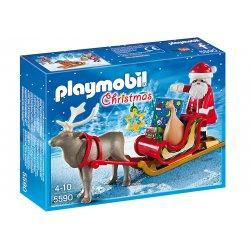 Playmobil 5590 - Sanie z Reniferem i Figurką Mikołaja