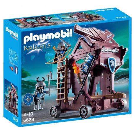 Playmobil 6628 - Wieża oblężnicza rycerzy herbu Orzeł