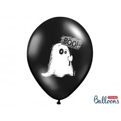 Balon Halloween - Duszek, pastel black