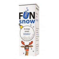 Ile Śniegu Zmieści Bombka - Zestaw Eksperyment Fun Snow