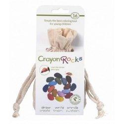 Kredki Crayon Rocks 16 Kolorów bawełnianym woreczku