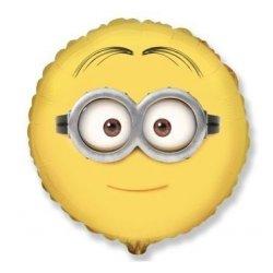 """Minion Dave balon 18"""" - okrągły, napełniony helem"""