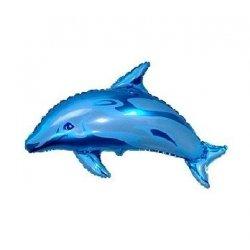 """Balon foliowy 24"""" - Delfin, napełniony helem"""