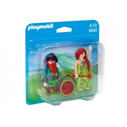 Playmobil 6842 - Duo Pack Elf i krasnal