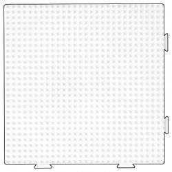 Hama 234 - Duża biała podkładka - koraliki midi