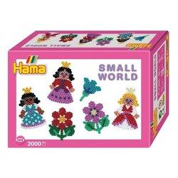 Hama 3505 - Small world - Księżniczki i kwiaty