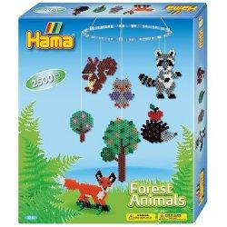 Hama 3240 - Karuzela leśne zwierzaki z Koralików Midi