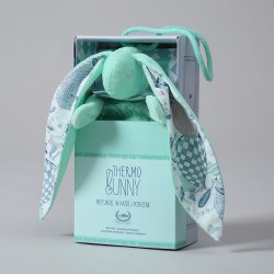 Thermo bunny - Velvet collection - Mint, La Millou Family