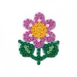 Hama 327 - podkładka mały kwiatek - koraliki midi