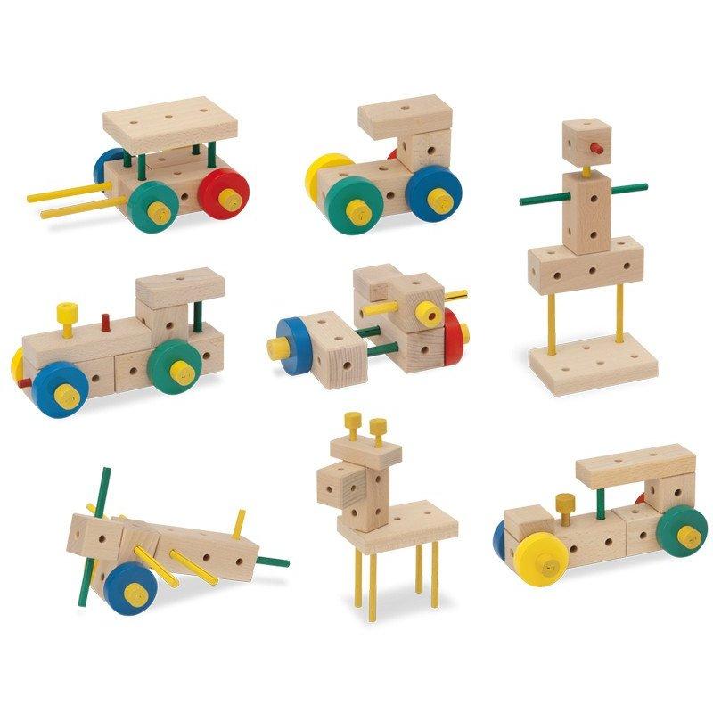 MATADOR Ki 1 - drewniane klocki konstrukcyjne
