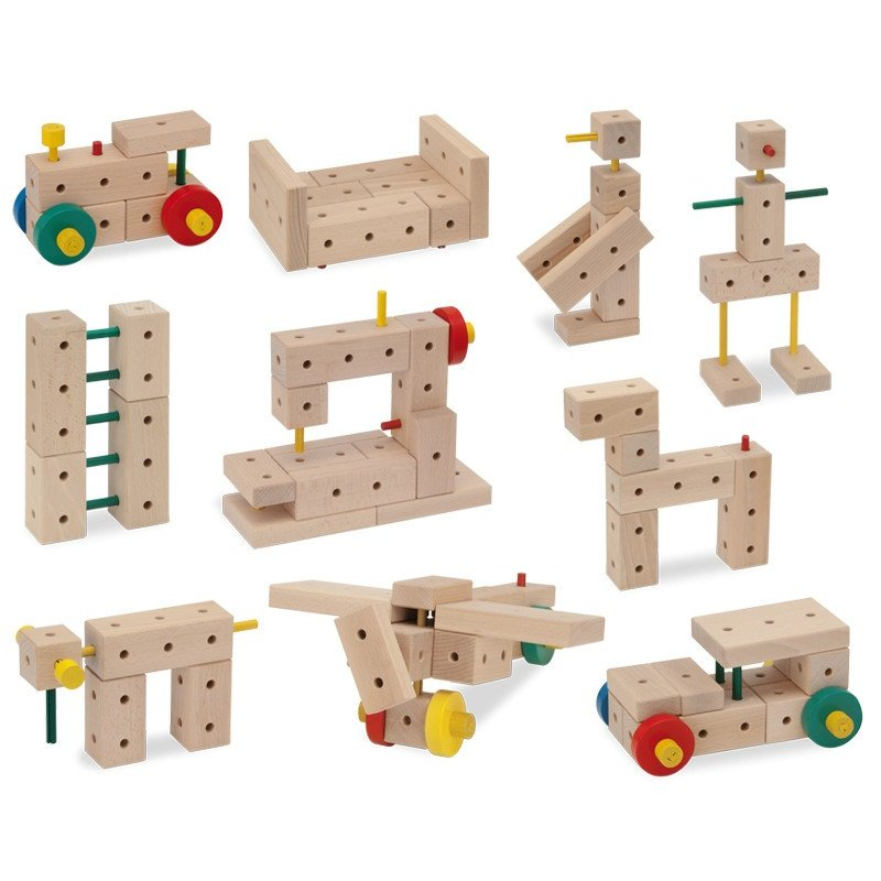 MATADOR Ki 2 - drewniane klocki konstrukcyjne