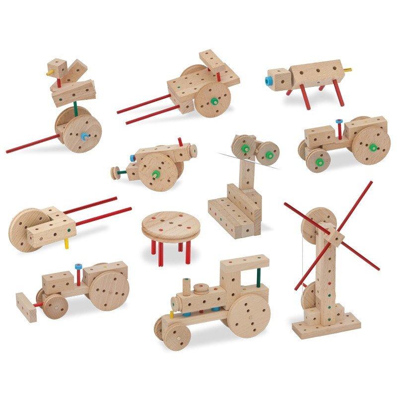 MATADOR Klassik 0 drewniane klocki konstrukcyjne