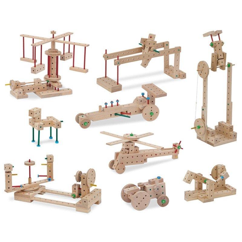 MATADOR Klassik 1 drewniane klocki konstrukcyjne