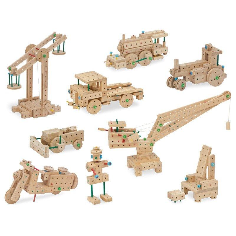 MATADOR Klassik 2 drewniane klocki konstrukcyjne