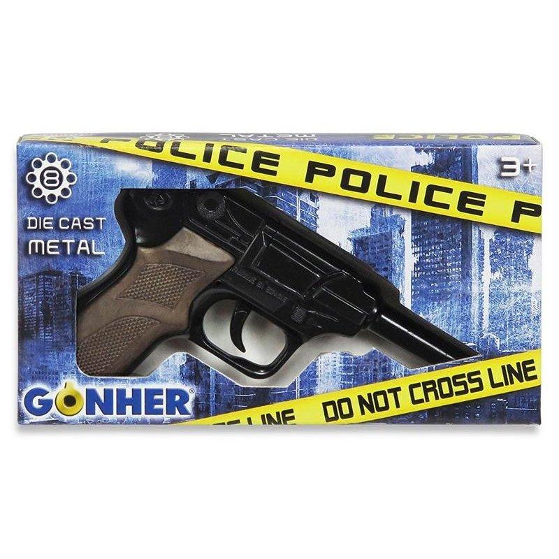 GONHER 124/6 Police - Pistolet zapakowany w ładne pudełko