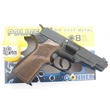 GONHER 125/6 - Pistolet Policyjny na kapiszony