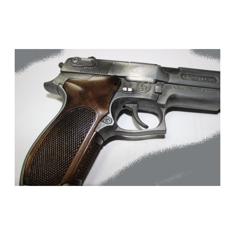 Pistolet Metalowy na kapiszony - Gonher 45/1