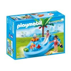 Playmobil 6673 - Dziecięcy Basenik ze Zjeżdżalnią