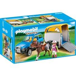 Playmobil 5223 - Samochód z przyczepą dla konia