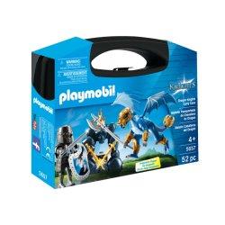Zestaw Playmobil 5657 - Przenośna Walizka Rycerz i Smok