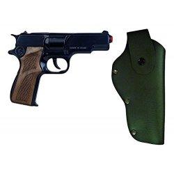 Pistolet na kapiszony Policyjny + Kabura GONHER 1125/6