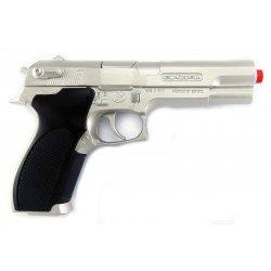 Pistolet na kapiszony Srebrny Metal - GONHER 45/0