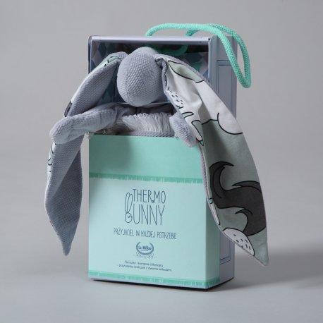 Thermo bunny - Velvet collection - Dark grey, Unicorn rainbow knight - La Millou