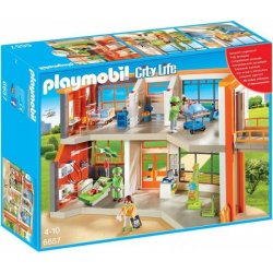 Playmobil 6657 - Szpital Dziecięcy z Wyposażeniem - City Life