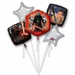 Bukiet balonów foliowych Star Wars - Zestaw 5 balonów
