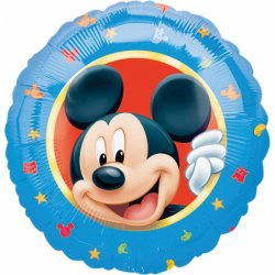 """Myszka Mickey 17"""" - balon foliowy napełniony helem"""