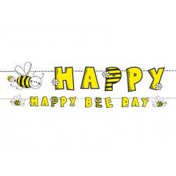 Baner na Urodziny - Pszczółka - Birthday banner